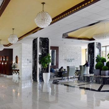 Lobby at Seacoast Suites