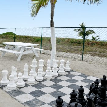 Giant Chess Game at Seacoast Suites