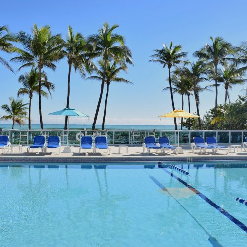 Pool at Seacoast Suites