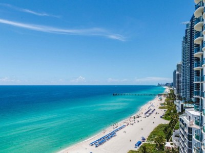 Miami Beach From Top