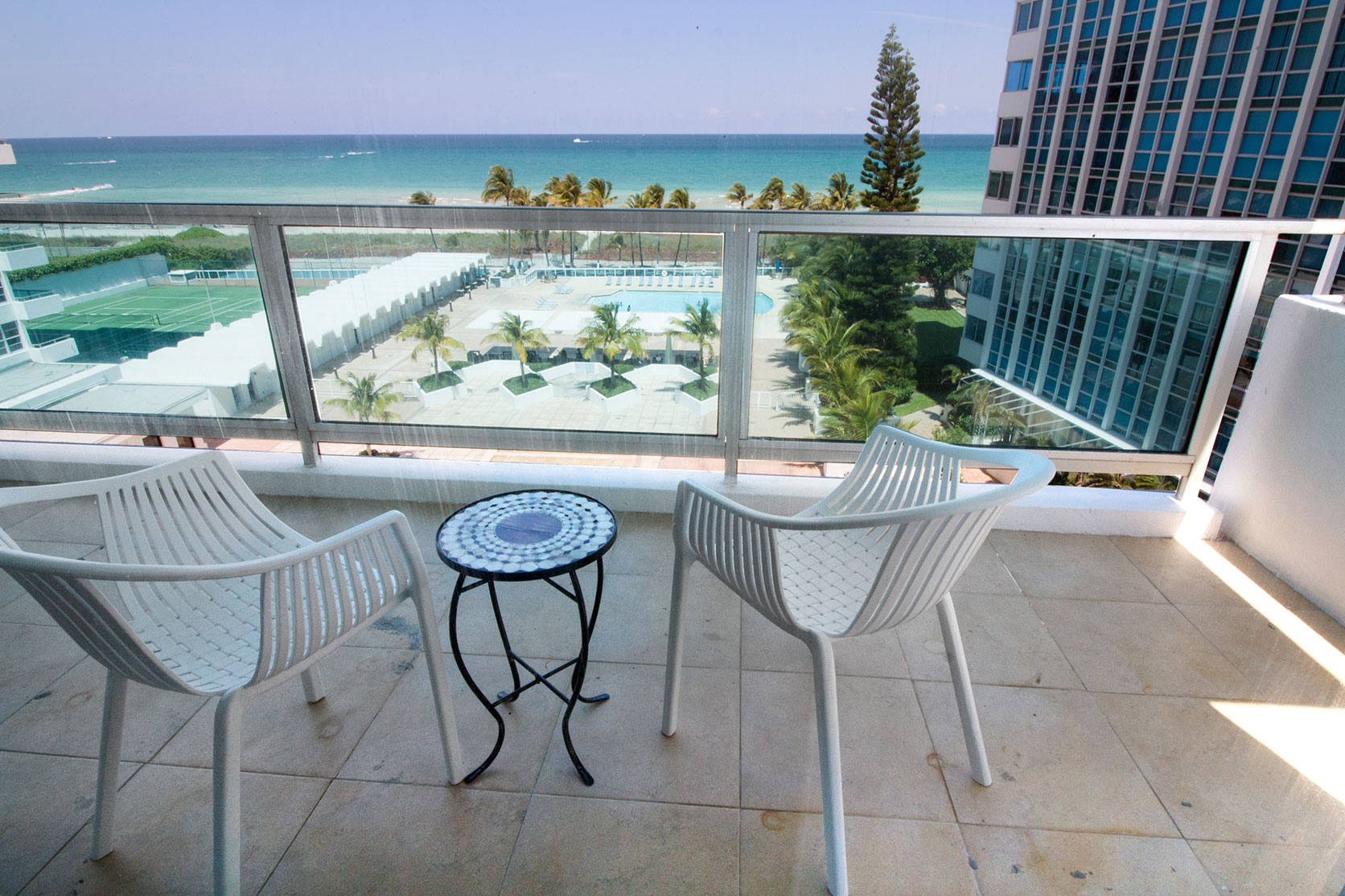 Ocean View Balcony at Seacoast Suites