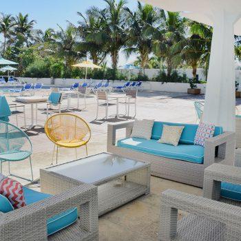 Lounge Area at Seacoast Suites