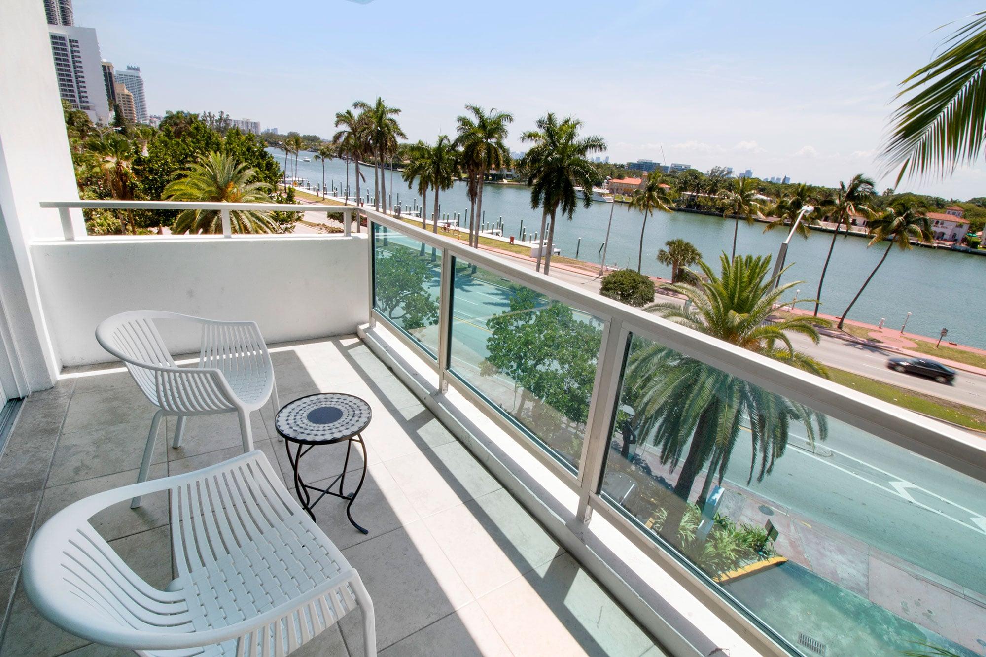Balcony at Seacoast Suites