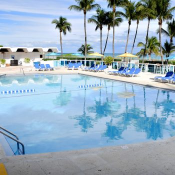 Pool at Seacoast Suites on Miami Beach