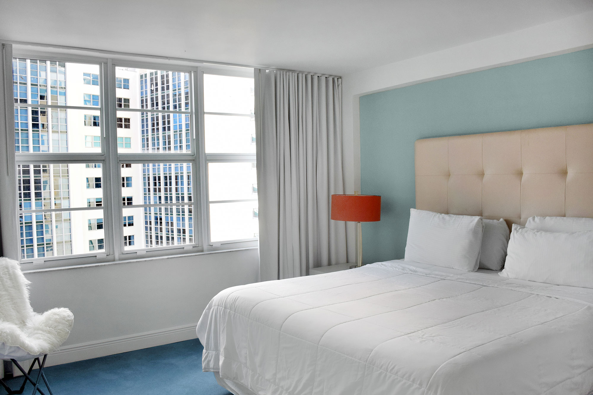 Room at Seacoast Suites apartments on Miami Beach